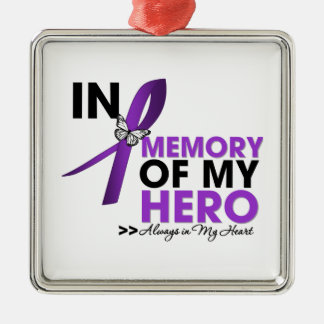 Cystic Fibrosis Tribute In Memory of My Hero Christmas Ornament