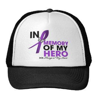 Cystic Fibrosis Tribute In Memory of My Hero Mesh Hats
