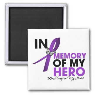 Cystic Fibrosis Tribute In Memory of My Hero Magnet