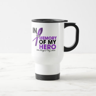 Cystic Fibrosis Tribute In Memory of My Hero Stainless Steel Travel Mug