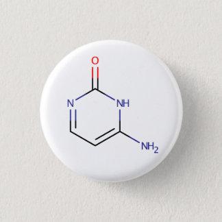 Cytosine Molecule 3 Cm Round Badge