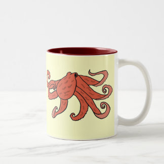 CZ- Octopus Cartoon Mug