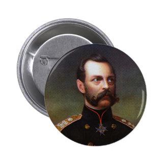 Czar Alexander II 6 Cm Round Badge