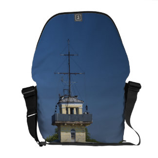 Czar Peter the Greats Naval fortress town Courier Bag