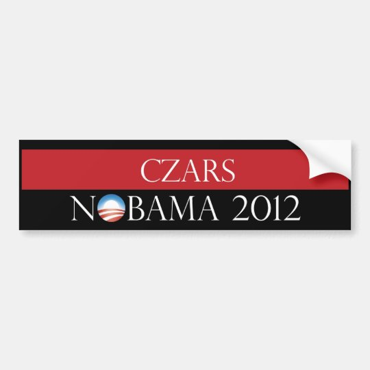 Czars Nobama 2012 Bumper Sticker