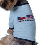 Czech American Pet Shirt
