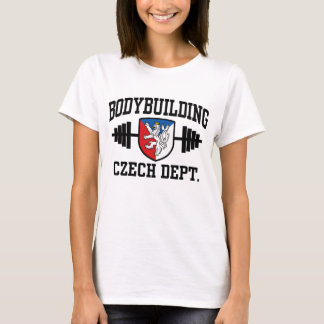 Czech Bodybuilding T-Shirt