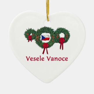 Czech Christmas 2 Christmas Ornament