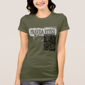Czech Coat of Arms Grunge Style T-Shirt