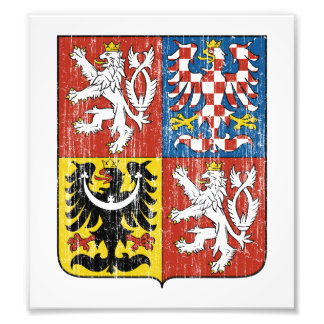 Czech Coat Of Arms Photo Print