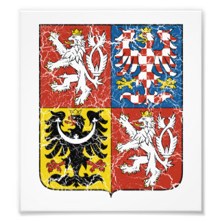 Czech Coat Of Arms Photo Print