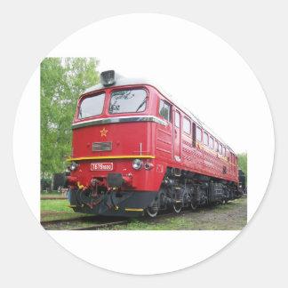 Czech Diesel Classic Round Sticker