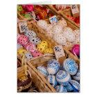 Czech Easter Eggs Card