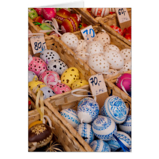 Czech Easter Eggs Card