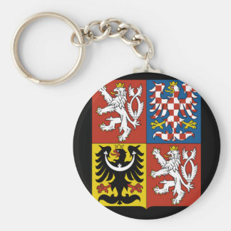czech emblem key ring
