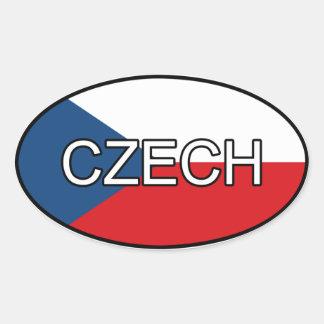 Czech Euro Sticker