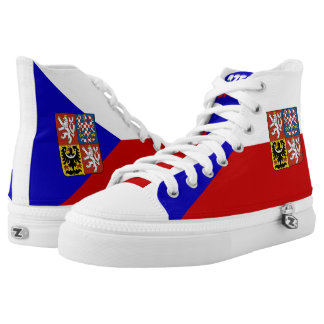 Czech flag high tops