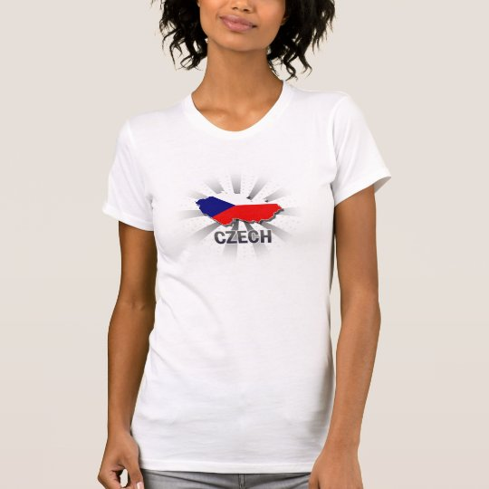 Czech Flag Map 2.0 T-Shirt