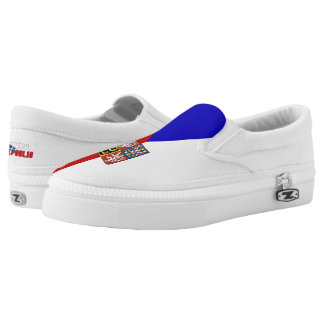 Czech flag Slip-On shoes