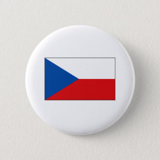 Czech Flag T-shirts and Gifts 6 Cm Round Badge
