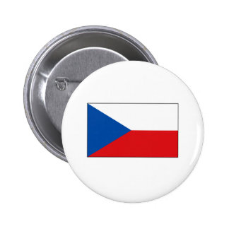 Czech Flag T-shirts and Gifts Button