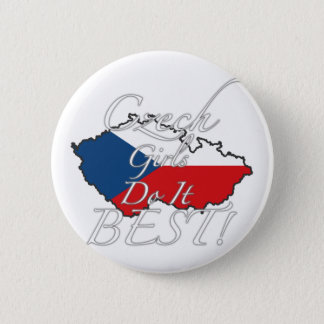 Czech Girls Do It Best! 6 Cm Round Badge