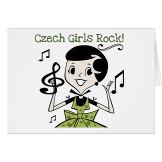 Czech Girls Rock Card