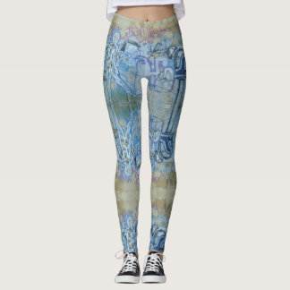 Czech Graffiti Leggings