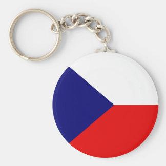 Czech High quality Flag Key Ring
