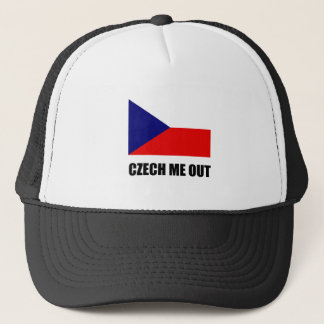 Czech Me Out Trucker Hat
