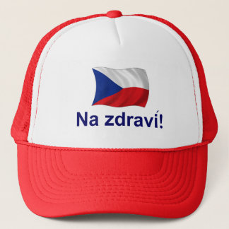 Czech Na jdravi! Trucker Hat