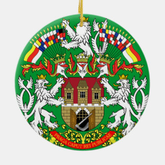 Czech Prague* Christmas Ornament
