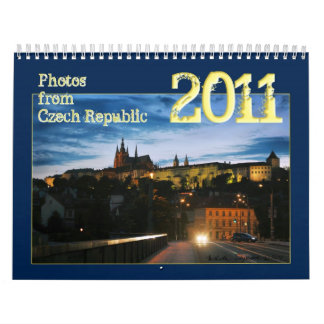 Czech Republic  2011 Calendar