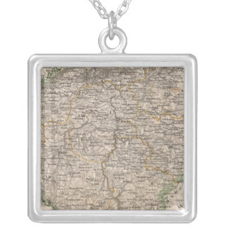 Czech Republic 2 Silver Plated Necklace