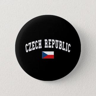 CZECH REPUBLIC 6 CM ROUND BADGE