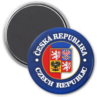Czech Republic 7.5 Cm Round Magnet