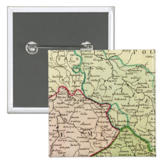 Czech Republic and Poland 15 Cm Square Badge