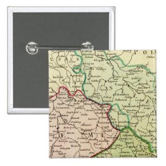 Czech Republic and Poland 15 Cm Square Badge