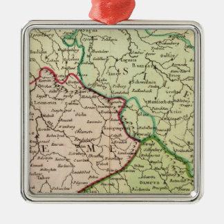 Czech Republic and Poland Christmas Ornament