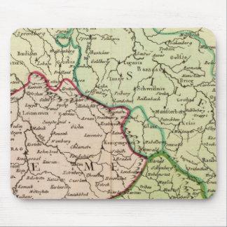 Czech Republic and Poland Mouse Mat