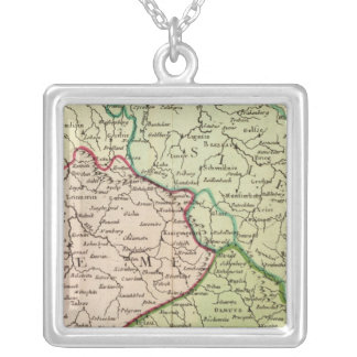 Czech Republic and Poland Silver Plated Necklace