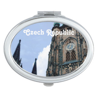Czech Republic Architecture Compact Mirror