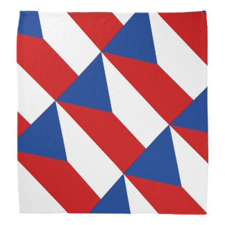 Czech Republic Bandana
