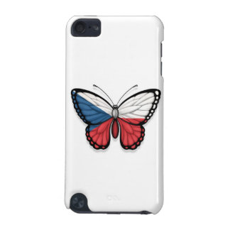 Czech Republic Butterfly Flag iPod Touch (5th Generation) Case
