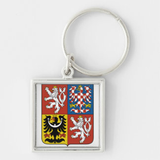 Czech Republic Coat of arms CZ Key Ring