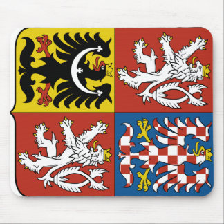 Czech Republic Coat of arms CZ Mouse Mat
