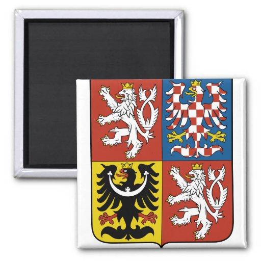 Czech Republic Coat of Arms detail Fridge Magnet