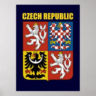 Czech Republic Coat of Arms Poster