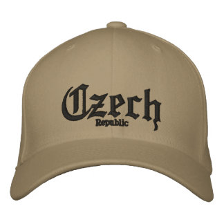 Czech, Republic Custom Hat Embroidered Baseball Cap