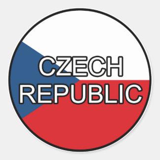 Czech Republic Euro Sticker